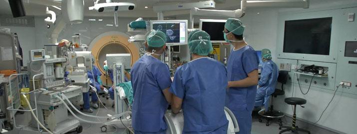 Quirófano de neurocirugía