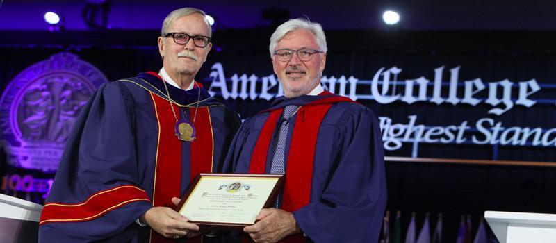 Antonio de Lacy Premio Honorífico ACS