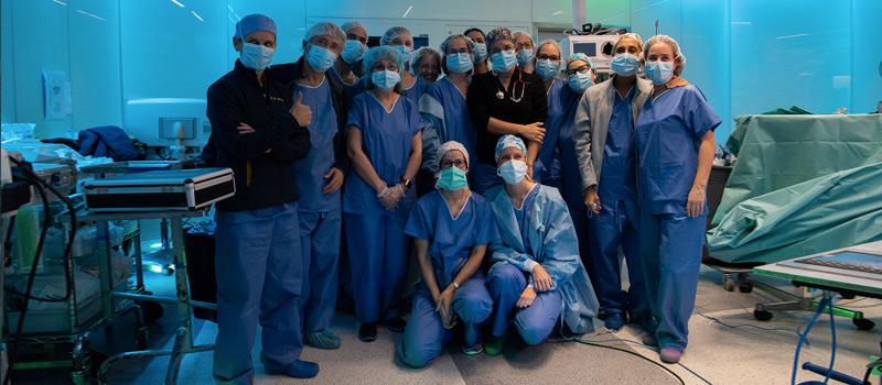 Trasplante de útero de donante viva
