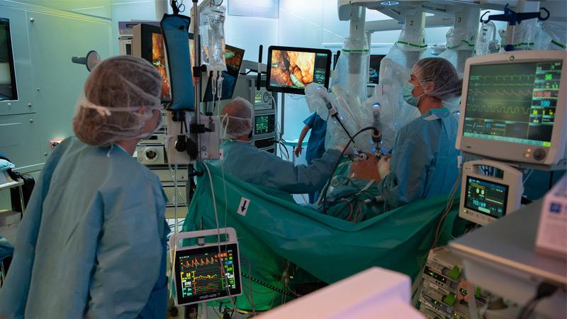 Cirugía laparoscópica en ginecología