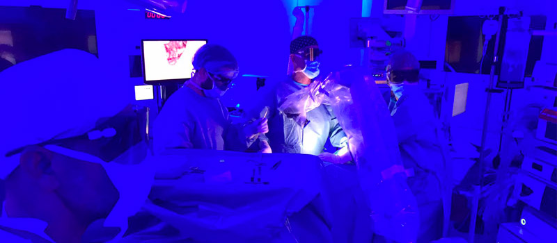 Abordaje de la cirugía de la glándula adrenal