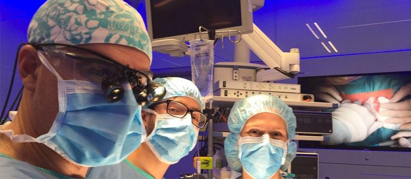 Éxito de una cirugía del hiperparatiroidismo