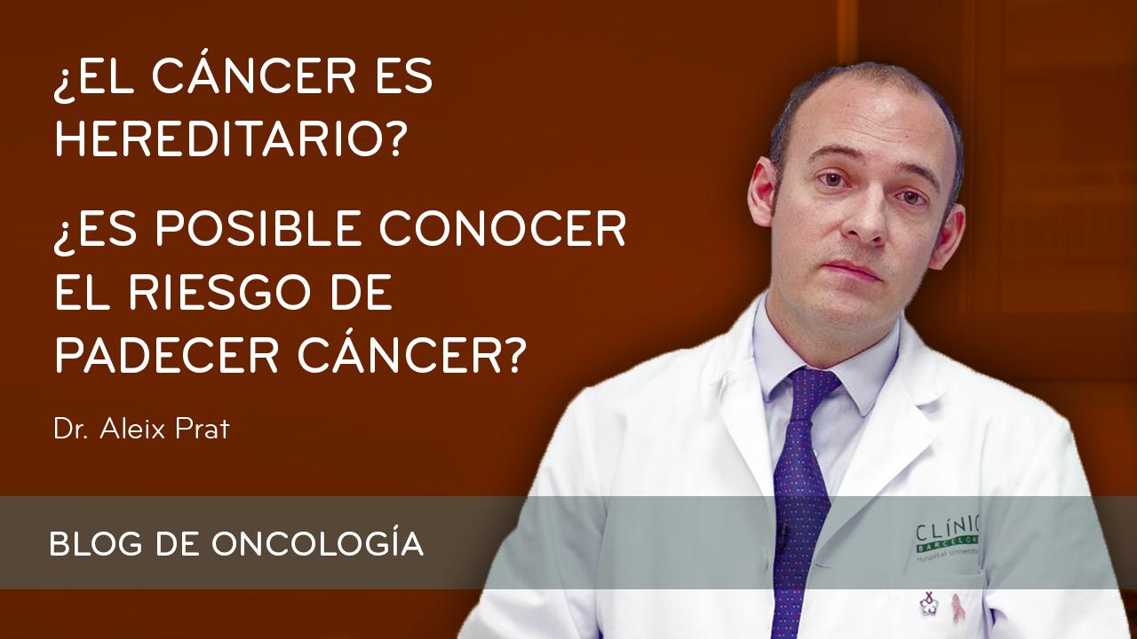Test genético riesgo de cáncer hereditario