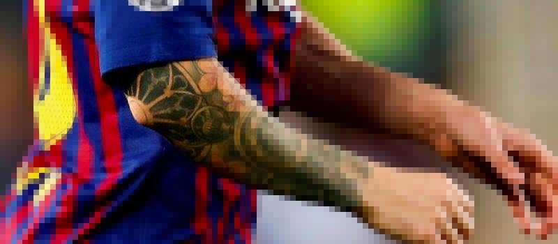 Lesión de codo de Messi